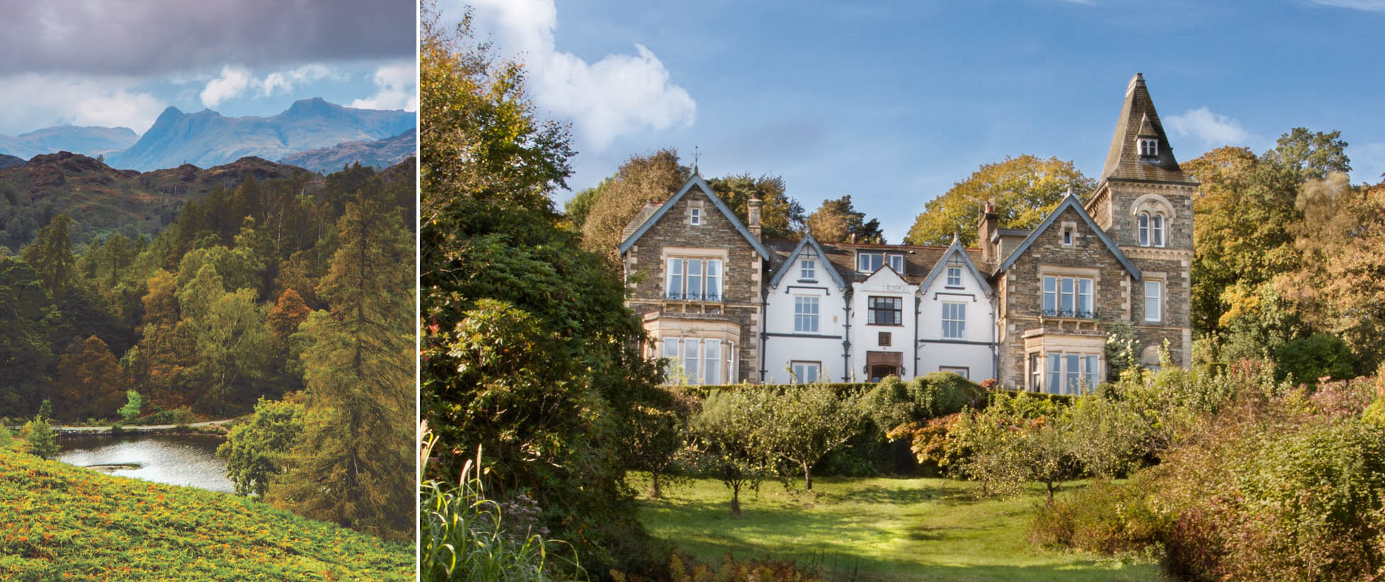 Yewfield - Guest House accommodation near Ambleside